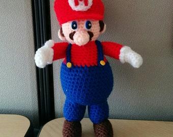 Super Mario Nintendo Crochet Amigurumi Doll
