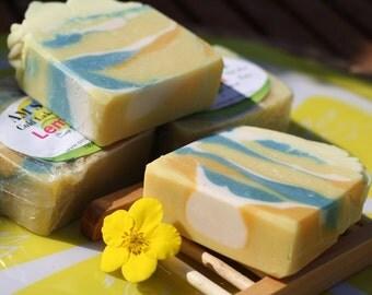 Lemon Soap with Shea Butter