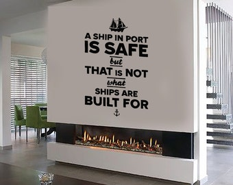 Wall Vinyl Decal Quote Inspirational Words Custom Quotes Center Wall Decor for Your Modern Home (#1067da)