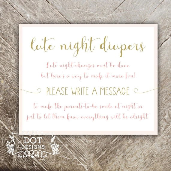 Late Night Diapers Game Once Upon A Time Baby By Mbdotdesigns