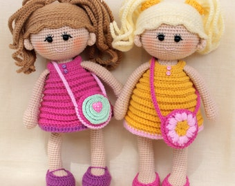 Pumposhka doll PDF crochet doll pattern