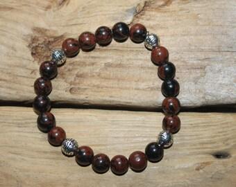 Healing Bracelet-Mahogany Obsidian