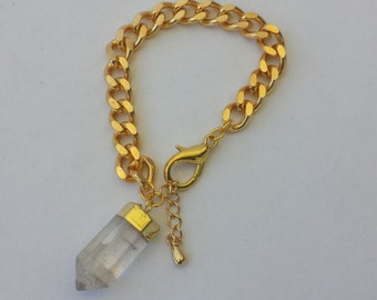 Crystal Point Bracelet