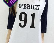 Dylan O'Brien Shirt Teen Wolf Dope Swag Hipster Unisex Baseball Shirt Men Women Funny 3/4 Raglan Long Sleeve