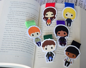 Six of crows magnetic bookmark