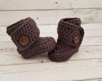 Baby Boots, Crochet Baby Boots, Baby Booties, Baby Boy Boots, Baby Girl Boots, Baby Shoes, Crochet Baby Shoes, Baby Gift Booties, MADE2ORDER