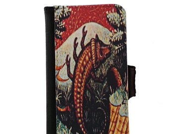 Scorpio the Scorpion Zodiac iPhone Wallet Case or Samsung Wallet Phone Case - Scorpio Zodiac Phone Case - Scorpio Astrology Phone Case