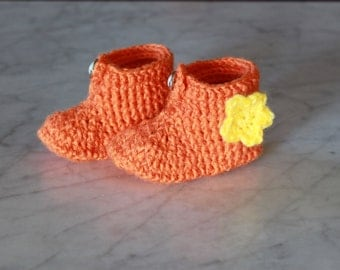Baby booties 0/3 months