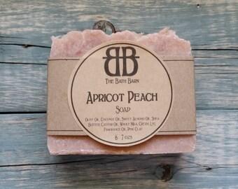 Apricot Peach Handmade Soap