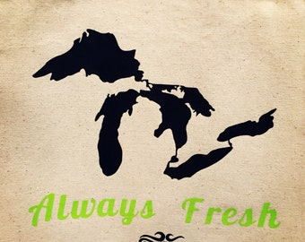 Always Fresh Canvas Market Tote