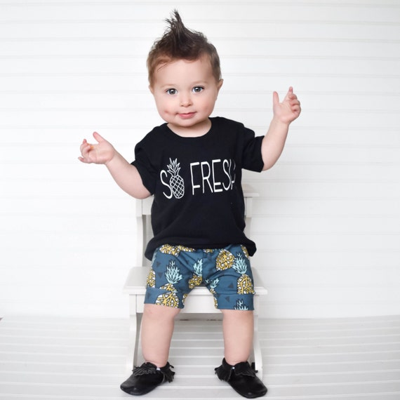 Cool Boys Clothes Our designer collections of cool boys clothes are packed with personality. We have the sporty, fun, and playful looks that appeal to your little guy. Then there are the specially tailored dress clothes which are truly comfortable and wearable.
