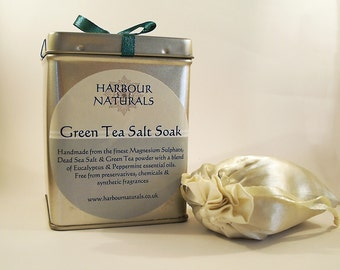 Green Tea Soak - 360g (4 baths)