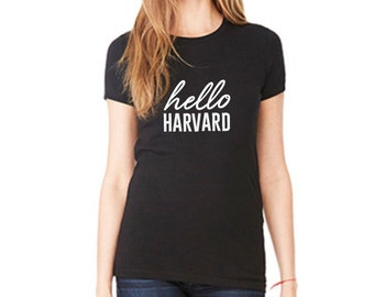 hello COLLEGE Custom Graduation T-Shirt - Personalized With Your College/University