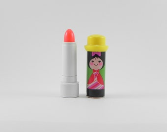 FREE SHIPPING Vintage Avon Collectibles Small World French Mint Lipkins New in Box Makeup Beauty Retro Avon Vintage Deadstock ItemAW357