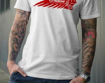 Vintage Indian Motorcycle Tshirt
