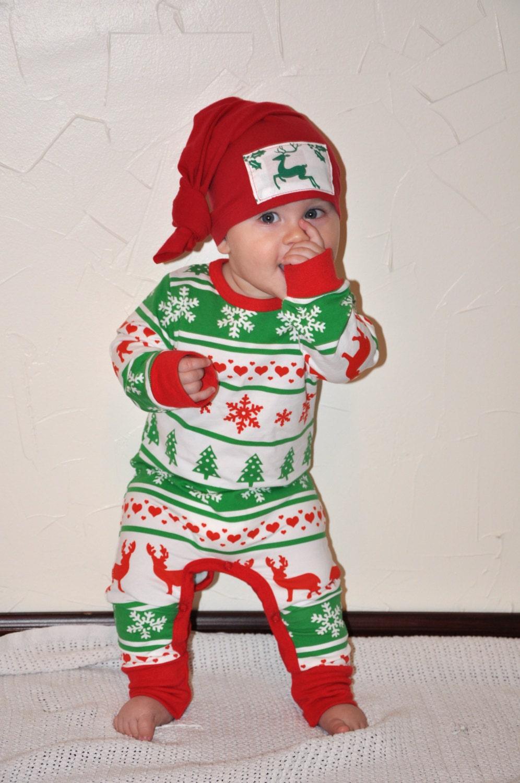 Christmas Baby Pajamas Baby Christmas pajamas Christmas Pjs