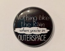 Outerspace/Carry On Pin, 1 Inch Button, Magnet, Zipper Pull or Button Bracelet, 5 Seconds of Summer, 5SOS