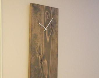 Rustic wall clock, Unique wall clock, Modern Wall Clock, Midcentury Wall Clock, Wall Clocks, Kitchen Clocks, Industrial Wall Clock