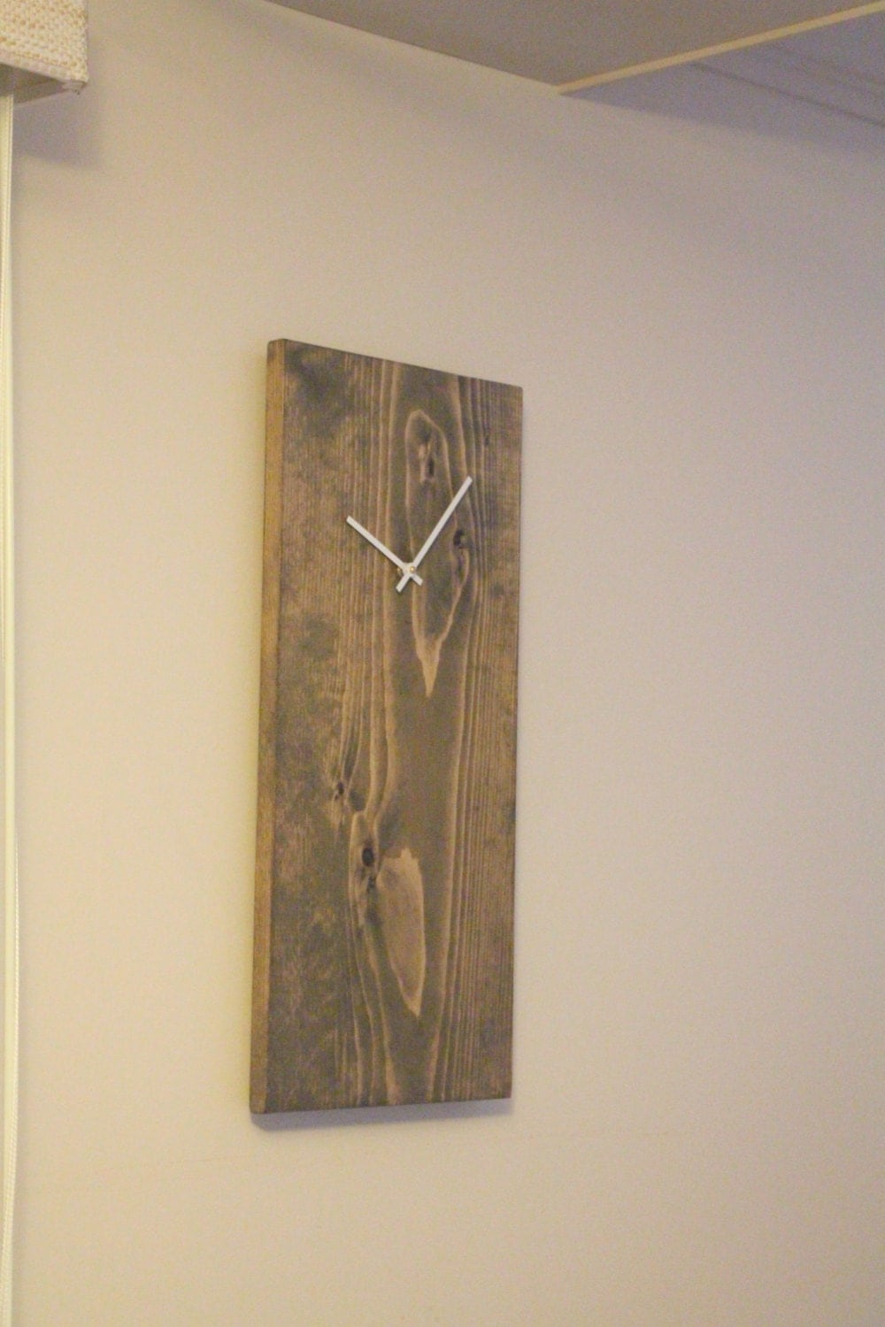 Rustic Wall Clock Unique Wall Clock Modern Wall Clock