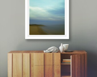 Coastal Wall Art, Fine Art Photography, Seascape Decor, Abstract Landscape, Sunset Print, Abstract Sunset, Giclee, Australia Ocean, Minimal