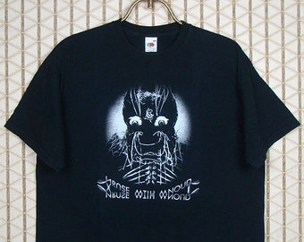 Nurse With Wound vintage and rare T-shirt, Steven Stapleton, Shipwreck Radio: Final Broadcasts,  Coil, David Tibet / Current 93, Whitehouse