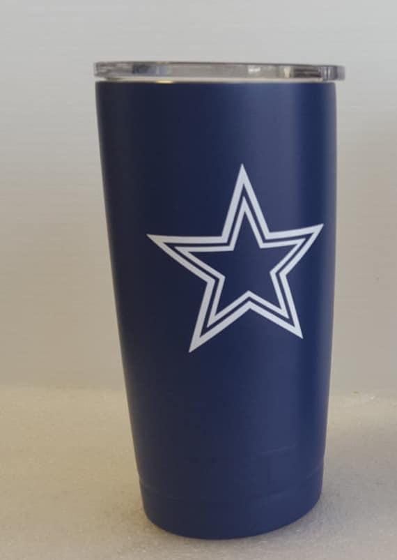 Yeti Dallas Cowboys 20oz Yeti Rambler Wrapped With 3m Vinyl