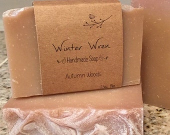 Autumn Woods All Natural Handmade Cold Process Soap