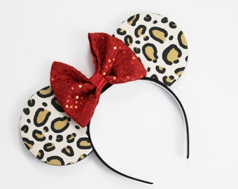 Cheetah Mouse Ears