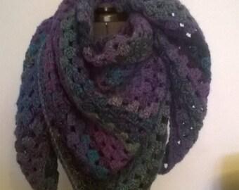 Beatuiful Crochet Shawl Scarf