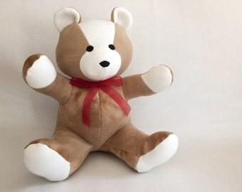 12 inch Soft Fleece Teddy Bear