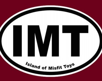 Island of Misfit Toys Magnet