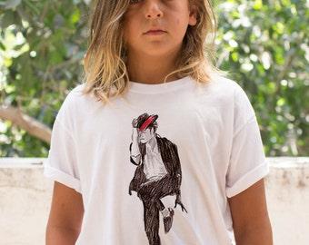 Unisex Kids T shirt, Tee, Kids Gift T-shirt, Michael Jackson Cool Boys T shirt, Girls T shirt, toddlers Pop Music fashion, children shirt