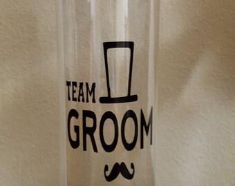 Team Groom Water Bottle