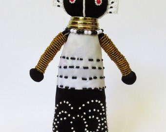 African Ndebele Doll - Small