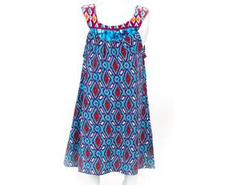 Girl Batik Dress / Ikat Dress / Girls Dress / Baby Girl Dress / Children Dress / Bali Dress / Summer Dress / Beautiful Dress / Toddler Dress