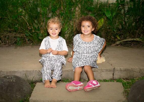 Partnerlook Geschwister / Bruder und Schwester Outfit / Cousin