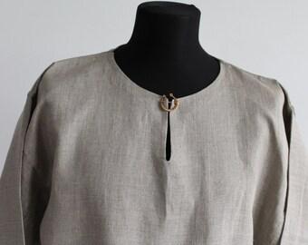 Made to order. Viking age linen tunika