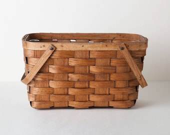 Vintage Basketville Basket with Handles