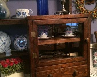 Antique Curio Cabinet - PRICE  REDUCED!