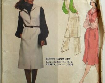 Uncut 1970s Vogue Vintage Sewing Pattern 1622, Size 14,Designer Original, Galitzine
