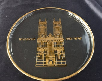 Orrefors Westminster Abbey plate