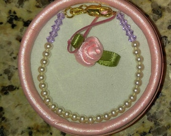 Pearl Angel baby-toddler Bracelet