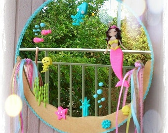 Little mermaid mirror
