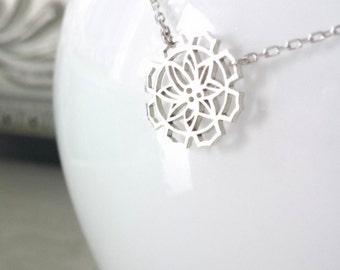 LOTUS minimalist necklace//FLORALIA collection