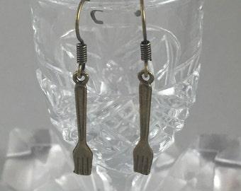 Dingelhopper or Fork Earrings