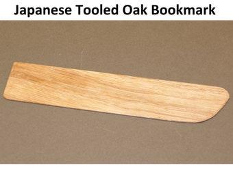 Oak Bookmarks - Japanese Tooled