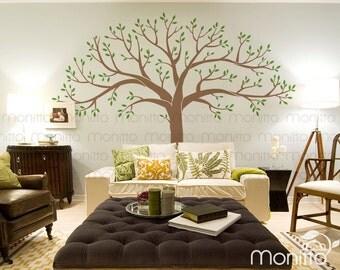 Giant Family Photo Memory Tree, Wall Decal, Kids Room Wall Decal, Nursery  Wall
