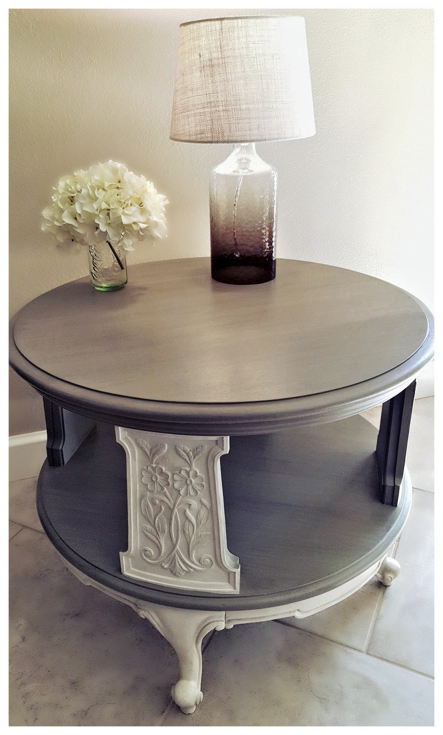 Waverly Ivory Chalk Paint Coffee Table