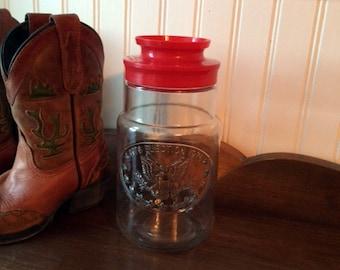 Bicentennial Election Glass Jar