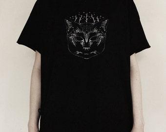 Black Cat Oversized T-shirt